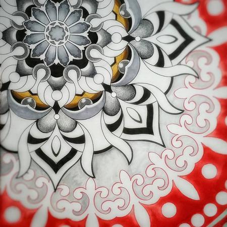 Geo-Sacred Original Artwork Thumbnail